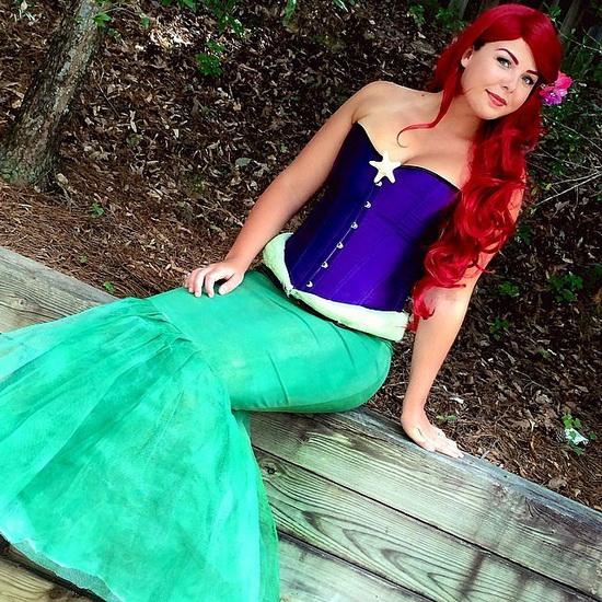 Costume de princesse Ariel Halloween