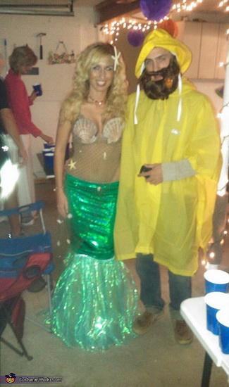 La petite sirène d'Halloween