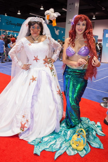 Costume original Ariel Halloween