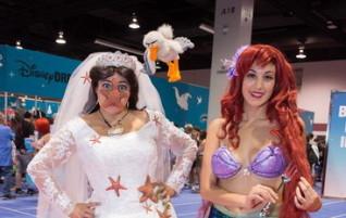 Déguisement d'Ariel Halloween