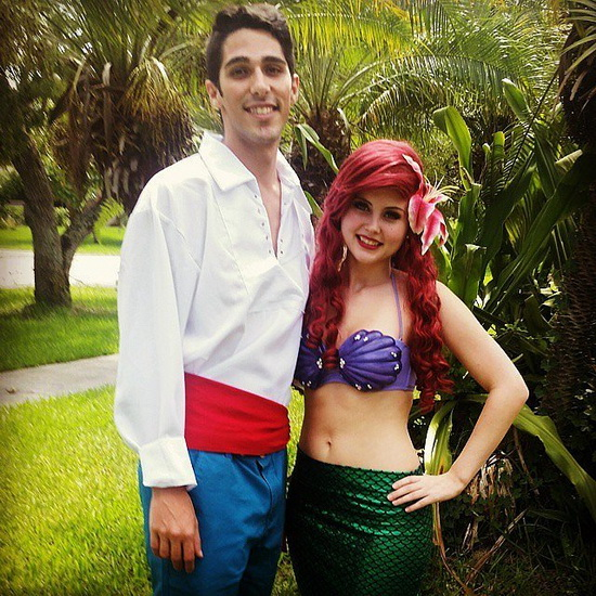 Ariel et le Triton Halloween