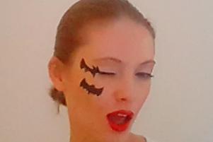 Maquillage Halloween — Chauve-souris