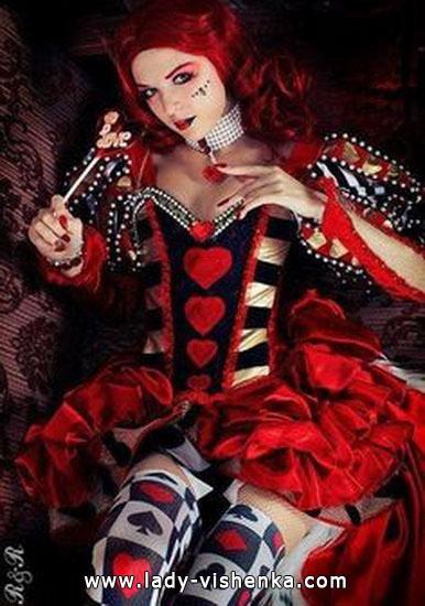 La reine originale de coeurs déguisement d'Halloween Halloween