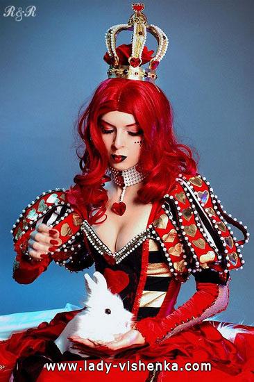 La Reine originale de coeurs photo déguisement