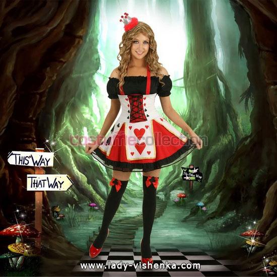 Reine de Coeur - déguisement d'Halloween fait maison