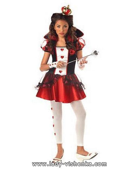 déguisement simple Reine des coeurs Halloween