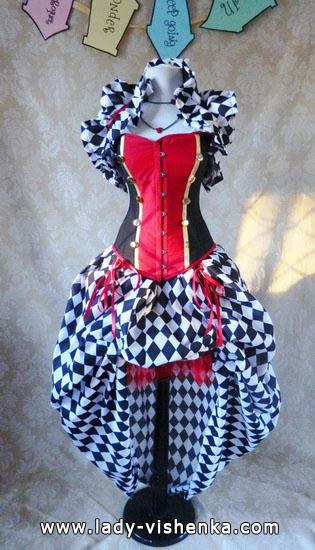 Reine de Coeur - déguisement pour fille Halloween