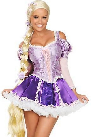Costume Raiponce sur Halloween