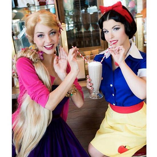 Facile Rapunzel déguisement pour Halloween