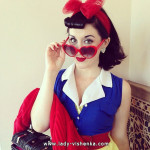 Costume blanche neige adulte