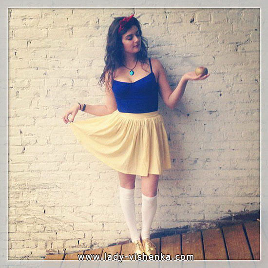 Blanche-Neige Halloween adulte
