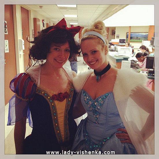 Blanche-Neige Halloween - costume