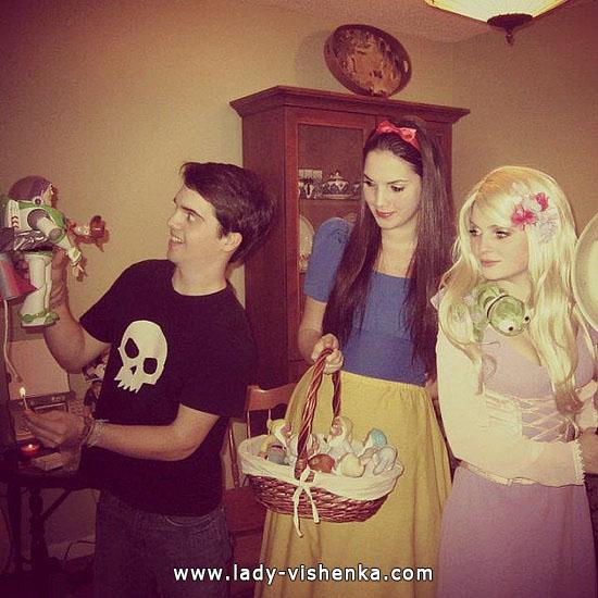 Blanche-Neige Halloween - costume  adulte
