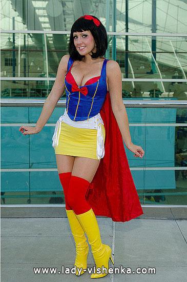 Super-héros de Blanche-Neige pour Halloween