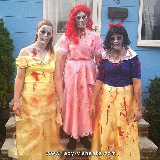 Blanche-Neige Zombie Halloween