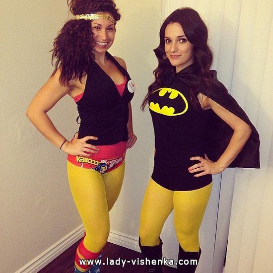 Halloween - déguisement super héros fait maison